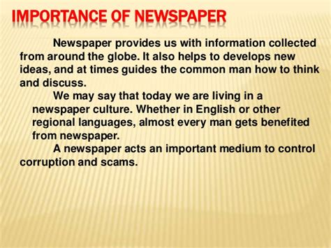 essay on importance of newspaper in hindi  weaksealga use of newspaper essay in hindi free essays