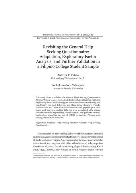 Tracer study of graduates thesis — WEAK-SEAL GA
